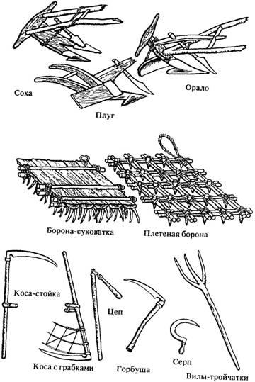 Инструменты, орудия труда, имущество славян Ddnnnn11