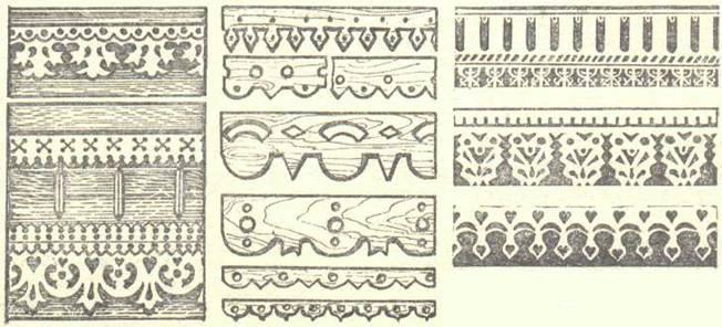 Орнамент - узоры наличников окон, ажурное обрамление крыльца Dnnddd25