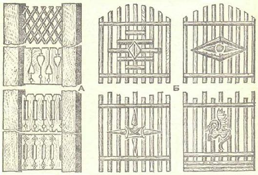 Орнамент - узоры наличников окон, ажурное обрамление крыльца Dnnddd26