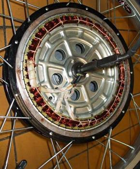 Генератор из мотор-колеса Dodndn11
