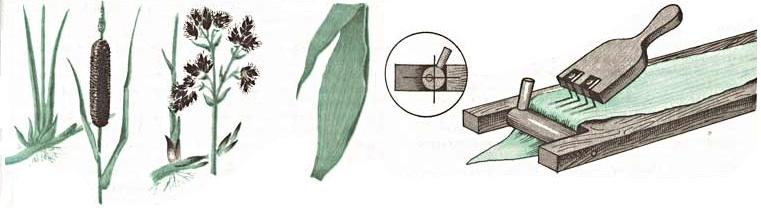 Плетение из камыша Dyddun42