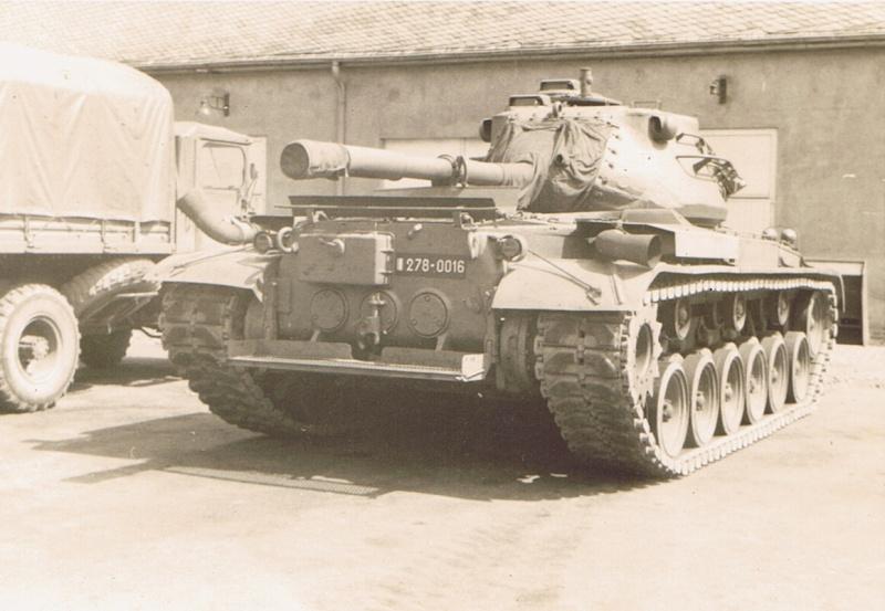 13ème Régiment du Génie stationné à Trèves en Allemagne. Patton10