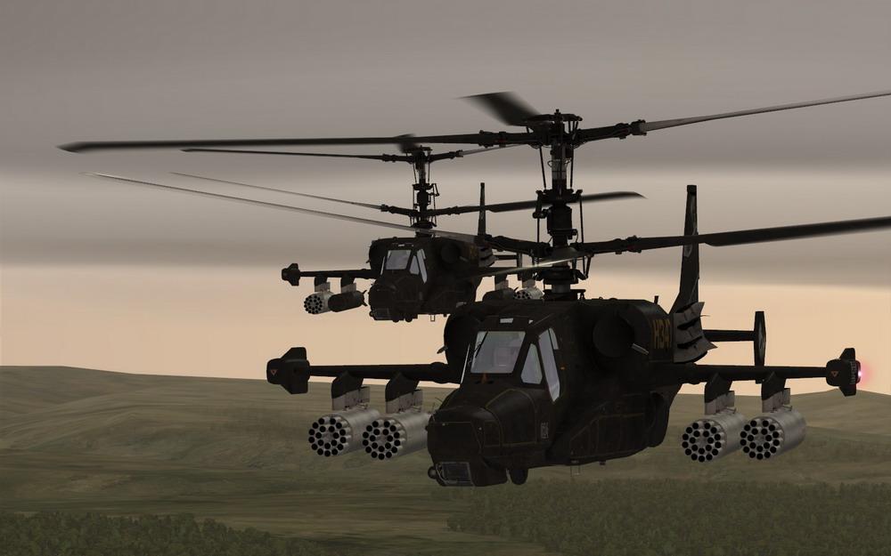 Misija: Radio navigacija pomocu neusmerenih radio farova (Ka-50) + foto izvestaj Screen13