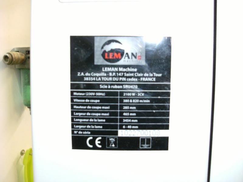 Presentation SAR LEMAN SRU470 Plaque10
