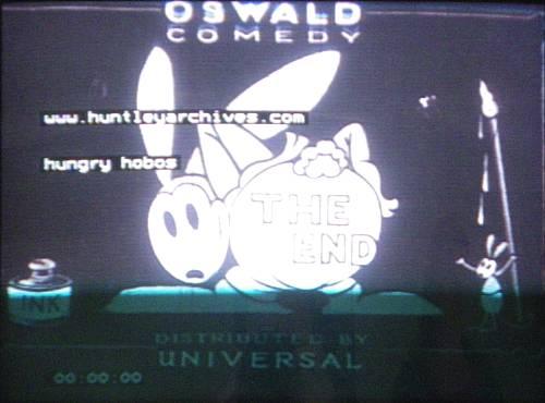 [Cartoon Walt Disney] Oswald le Lapin Chanceux : Hungry Hobos Erez10
