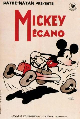 Les courts métrages Disney distribués en France Mickey13