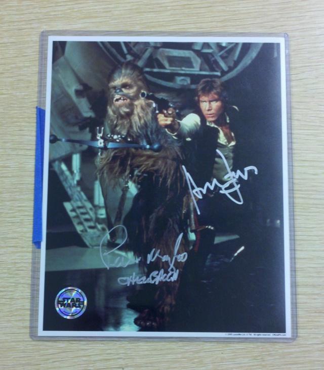 Harrison Ford TTM Autograph Success - 110% Authentic Harris11