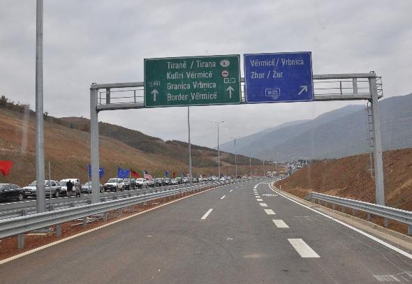 Autostrada, Vërmicë -- Merdare (Foto dhe Video) Autost10