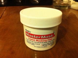 masque liquide (peinture) Photo411