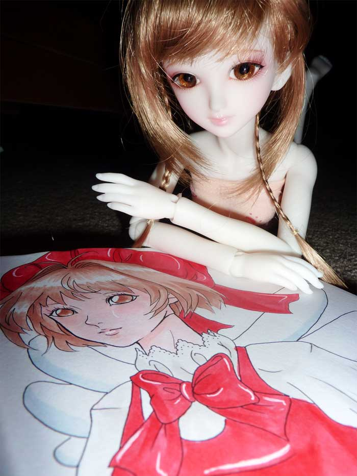 Bjd cosplaying Sakura11