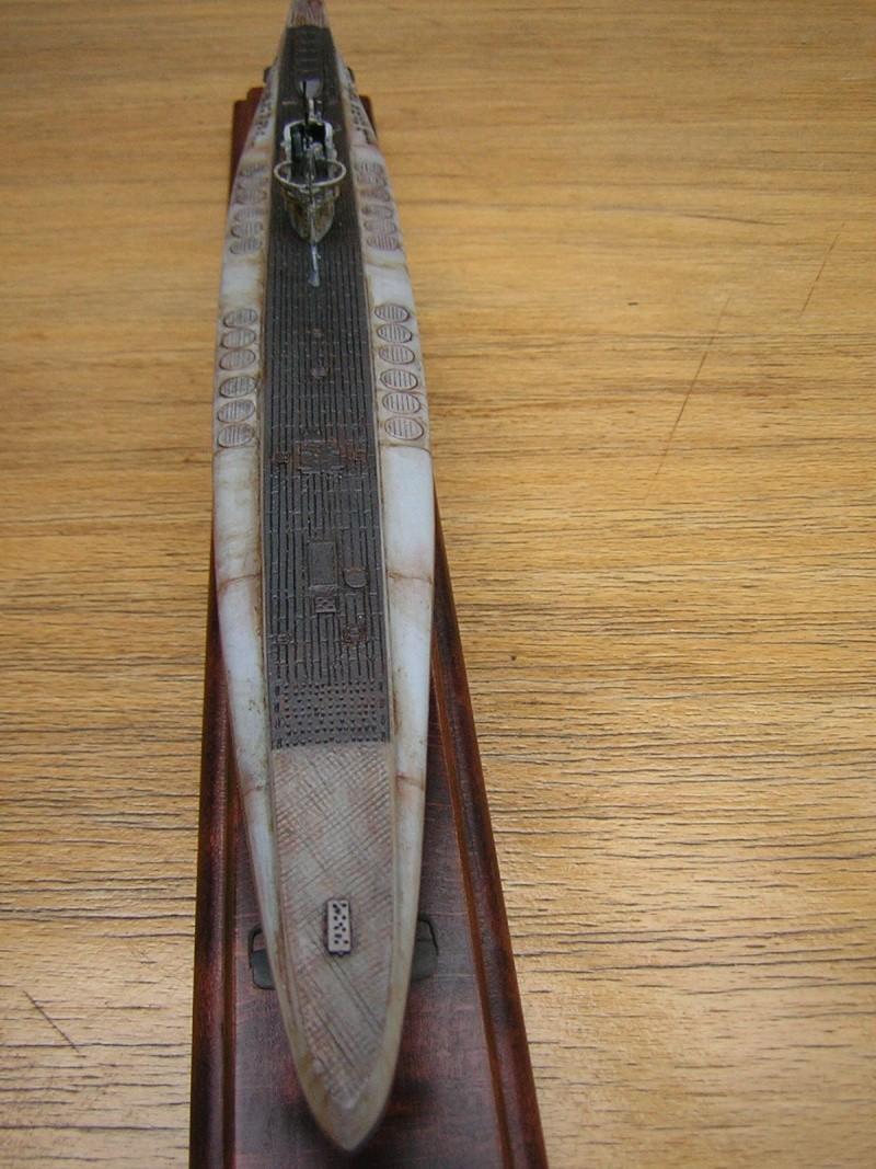 U-Boot Typ XB in 1/200 eigenbau Dscn4018