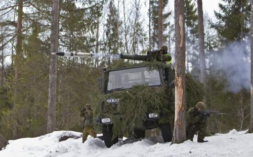 Armée Estonienne/Estonian Army Milan-10
