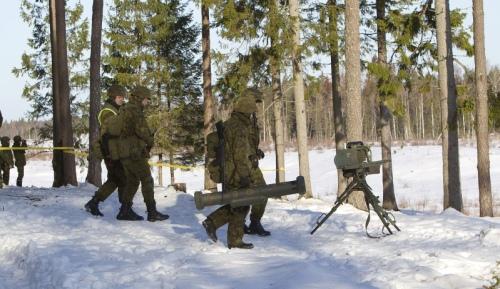 Armée Estonienne/Estonian Army Milan-11