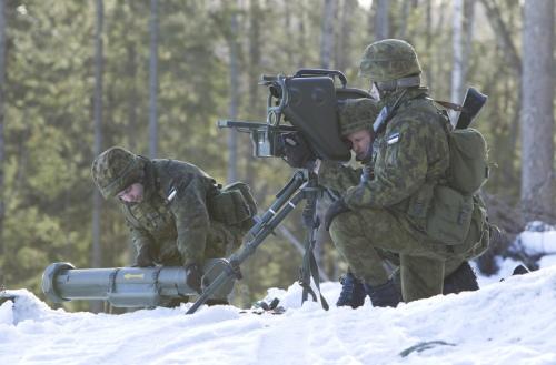 Armée Estonienne/Estonian Army Milan-12