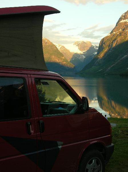 James et Marco en Norvège 0020410