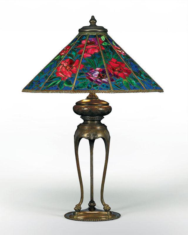 LES VERRERIES DE TIFFANY Lamp10