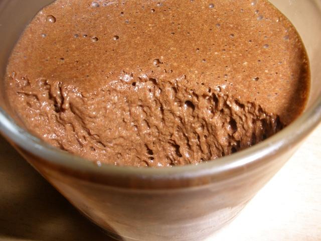 chocolat - mousse au chocolat en verrines P1210110
