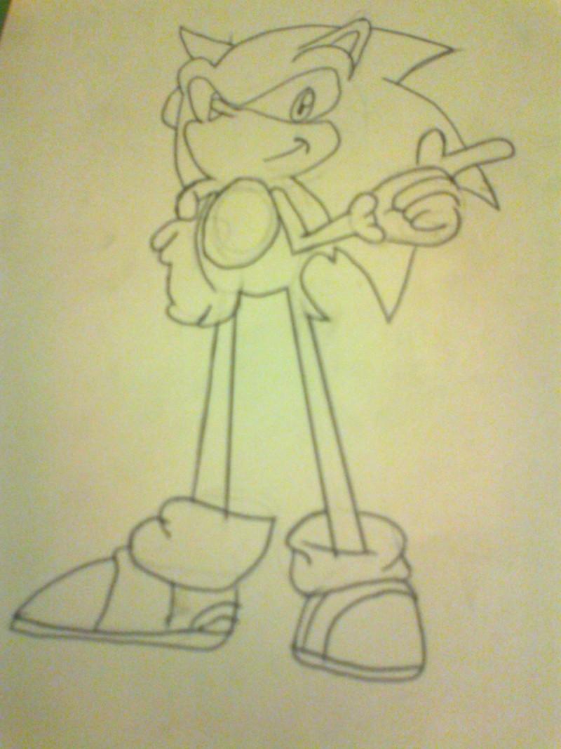 Dibujos de Mystogan Sonic10