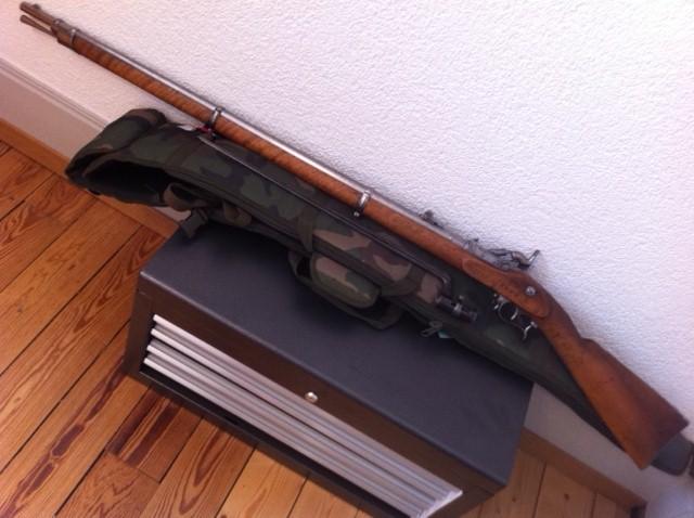 Fusil d'infanterie modèle 1863/67, système Milbank-Amsler 110