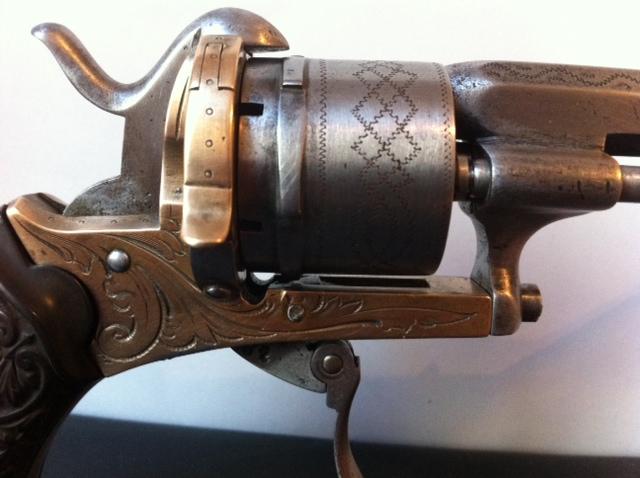 Restauration d'un petit revolver type Lefaucheux 1410