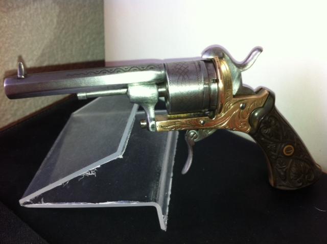 Restauration d'un petit revolver type Lefaucheux 1610