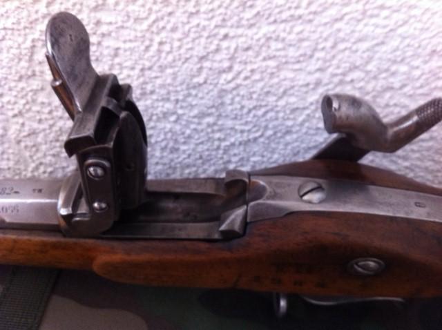 Fusil d'infanterie modèle 1863/67, système Milbank-Amsler 411