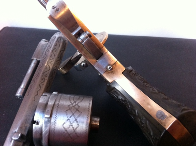 Restauration d'un petit revolver type Lefaucheux 510