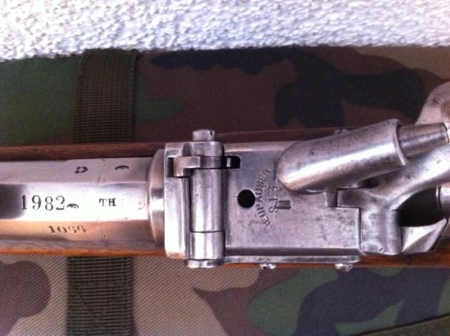 Fusil d'infanterie modèle 1863/67, système Milbank-Amsler 511