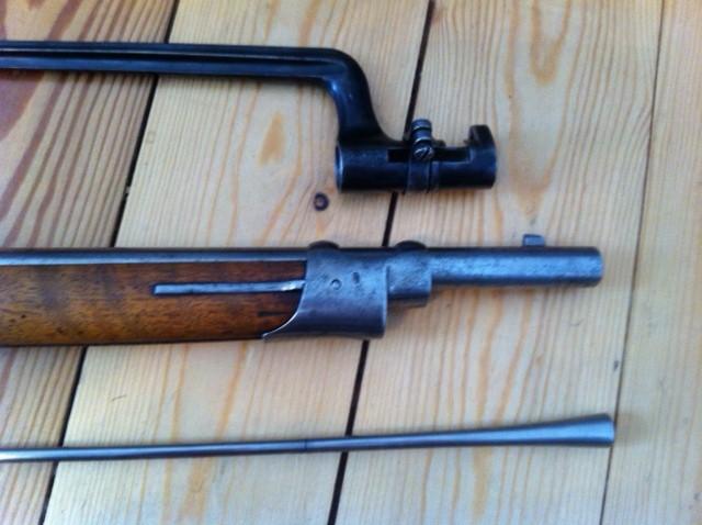 Fusil d'infanterie modèle 1863/67, système Milbank-Amsler 710