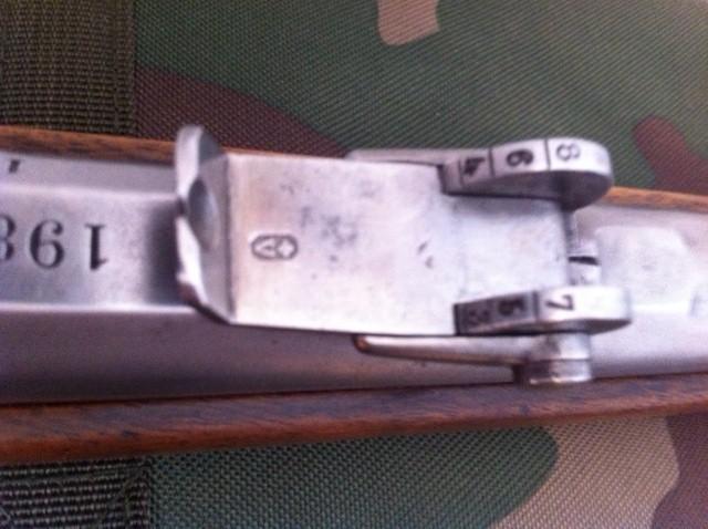 Fusil d'infanterie modèle 1863/67, système Milbank-Amsler 811