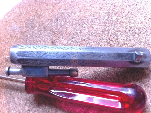 Restauration d'un petit revolver type Lefaucheux Photo11