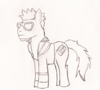 Andy The Weazel - Possible artist Pony_t11