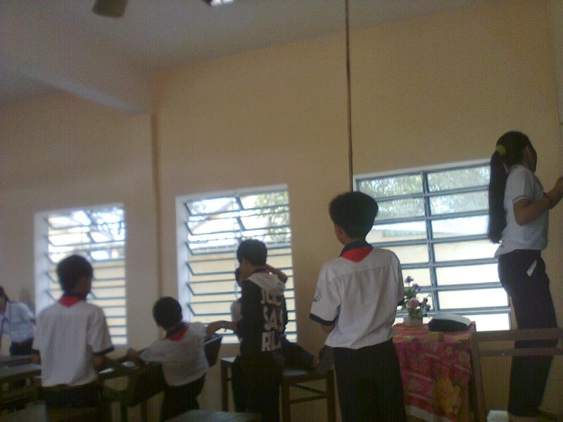 Ngày lao động lớp Hanh0312