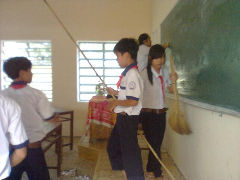 Ngày lao động lớp Hanh0314