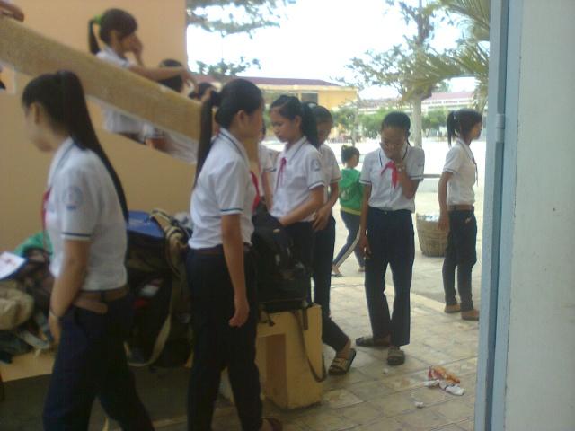 Ngày lao động lớp Hanh0317