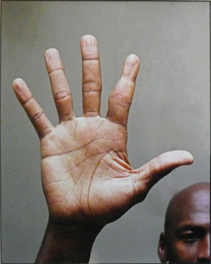 Michael 'Air' Jordan: hands of a basketball superstar! H-jord10