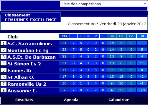 Sportigue Club de Sarrancolin (SCS) Foot Saison 2  Class10