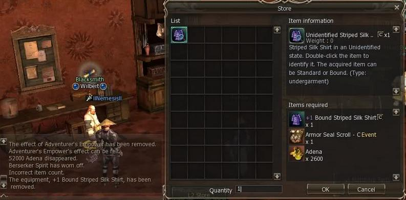 """O que é? como uso """"Weapon Seal Scroll"""" no blacksmith? Imagem10"""