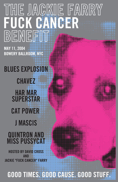 "5/11/04 - NYC, Bowery Ballroom, ""Fuck Cancer Benefit"" 5-11-010"