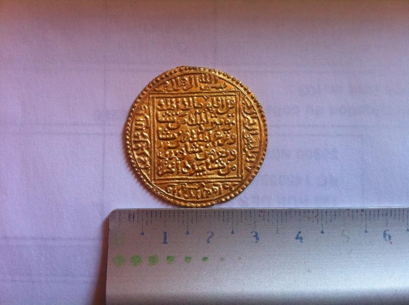 Double Dinar de l'émirat NASSRIDE (Royaume de Grenade) 1238-1492 110