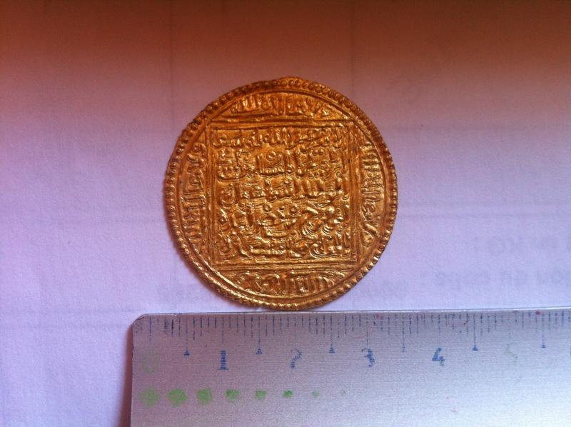 Double Dinar de l'émirat NASSRIDE (Royaume de Grenade) 1238-1492 210