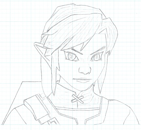 The Legend of Zelda Dessin12