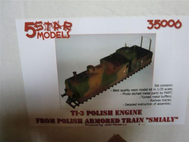 Polnische Panzerlok TI3 von 5 Star Models in 1:35 112