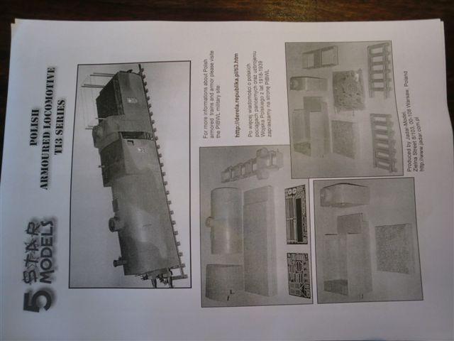 Polnische Panzerlok TI3 von 5 Star Models in 1:35 811
