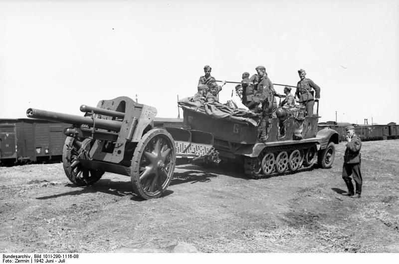 LeFH 18 German 10,5cm light field howitzer in 1:35 Bundes10