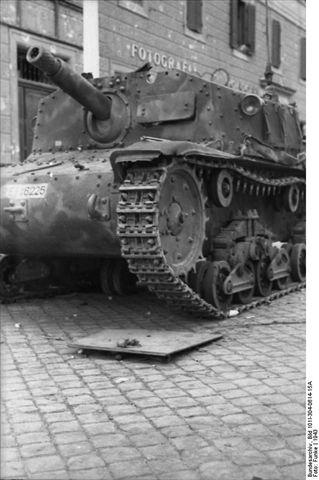 Semovente M40 75/18 in 1:35 Bundes19