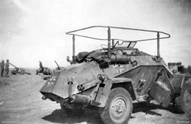 Sd.Kfz.223 Leichter Panzerspähwagen 1:35 Captur10