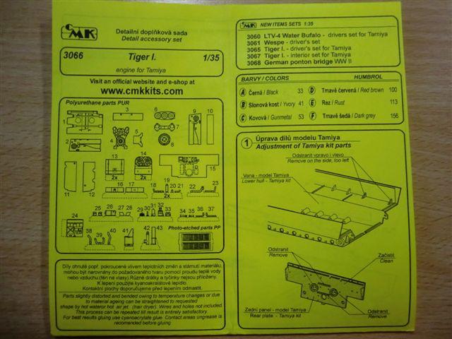 Motor und Motorraum für den Tiger I / Sturmtiger Cimg2972