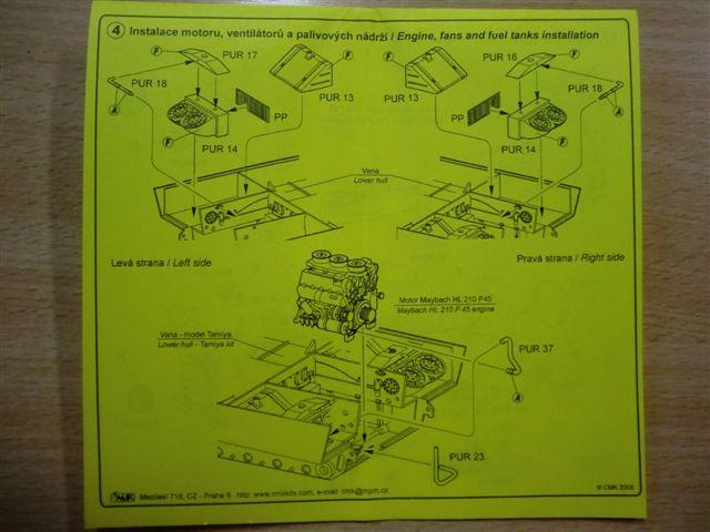 Motor und Motorraum für den Tiger I / Sturmtiger Cimg2975