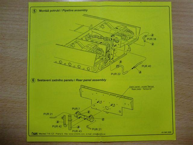 Motor und Motorraum für den Tiger I / Sturmtiger Cimg2976